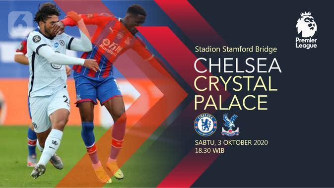 Chelsea vs Crystal Palace (Liputan6.com/Abdillah)