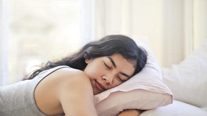 Ilustrasi tidur. (Photo on Pexels)