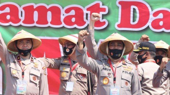 Jenderal Polisi Ini Ubah 11 Hektar Tanah Jadi Lahan Pangan