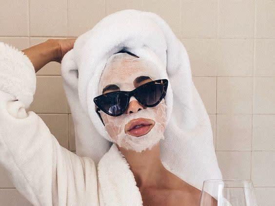 4.敷完面膜要洗臉