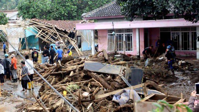 Dua Warga Sukabumi yang Hanyut akibat Banjir Bandang Ditemukan Tewas