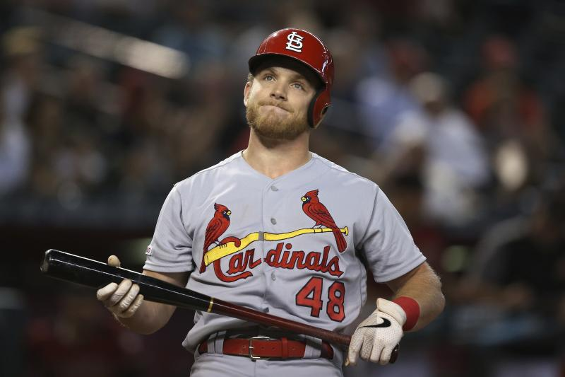 The St. Louis Cardinals missed a chance to take control on the NL Central. (AP Photo/Ross D. Franklin)