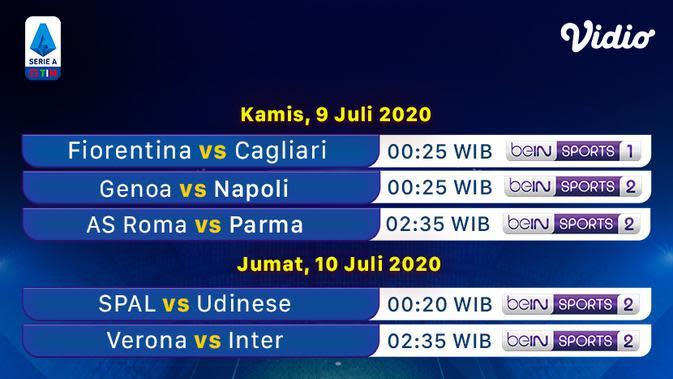 Jadwal dan Link Live Streaming Serie A Malam Ini di Vidio: Kans Inter Milan Geser Atalanta