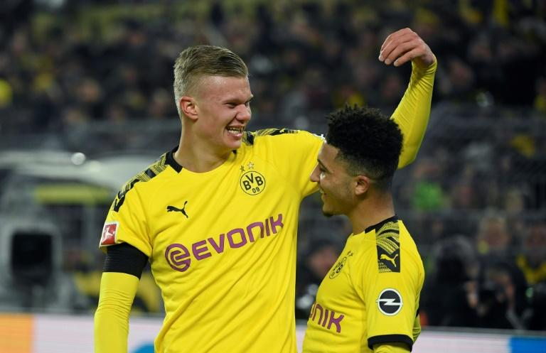 Haaland and Sancho - Dortmund's teenaged attackers