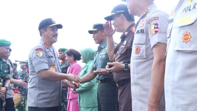 Sambangi Mako Batalyon Blora, Kabaharkam Tegaskan Sinergitas TNI-Polri Kawal NKRI