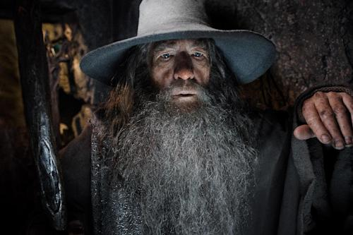"This image released by Warner Bros. Pictures shows Ian McKellen in a scene from ""The Hobbit: The Desolation of Smaug."" (AP Photo/Warner Bros. Pictures, Mark Pokorny)"