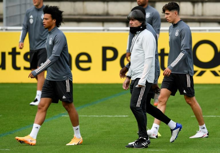 Germany experiment with new-look line-up behind closed doors against Spain