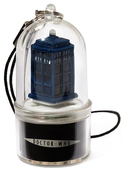 """Doctor Who"" Cell Phone Alert Charm"