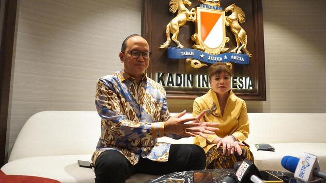 Rakernas KADIN (Kamar Dagang dan Industri) bidang hubungan internasional pada Selasa (19/11/2019) di Menara Kadin Indonesia. Pertemuan tersebut juga dihadiri oleh Menlu Retno Marsudi.