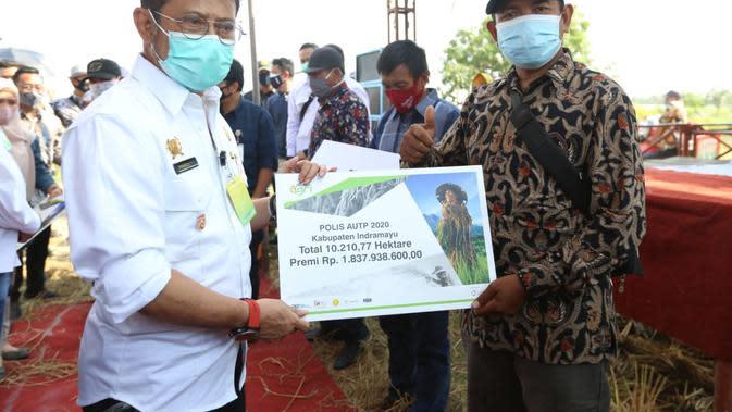 10.210.77 Ha Lahan Tercover Asuransi, Pertanian Indramayu Dipastikan Aman