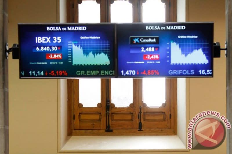 Saham Spanyol menguat dengan indeks IBEX 35 bertambah 1,30 persen