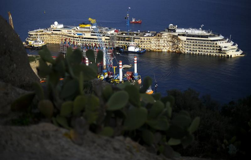 Two Years Ago The Costa Concordia Capsized Off The Coast Of Italy — Here's What It Looks Like Now