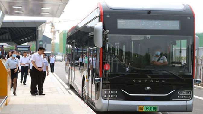 Bus nirsopir memasuki tahap pengujian (Yutong)
