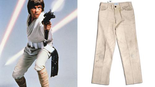 May The Pants Be With You: Luke Skywalker's Jeans Sell for Over $36,000