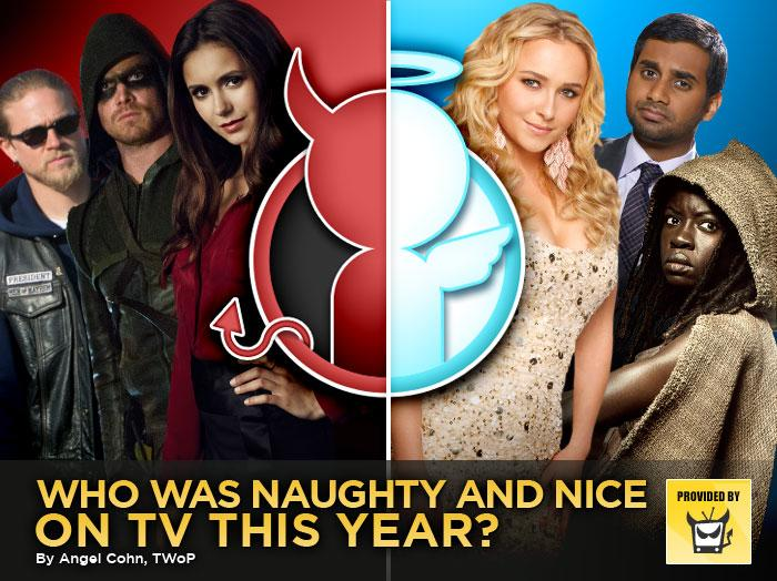 Who Was Naughty and Nice on TV This Year?