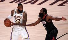 NBA》詹姆斯帶隊飆19記三分 湖人淘汰火箭晉級西區決賽