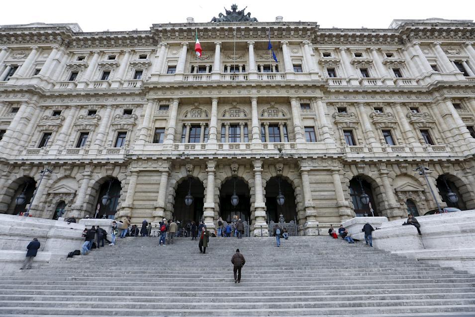 Italy's Court of Cassation palace is seen in Rome