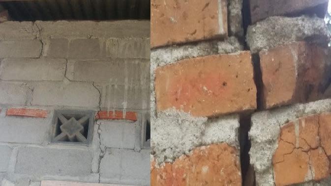 Sejumlah Rumah Warga Retak-Retak, Diduga Imbas Aktivitas Blasting PT AMNT