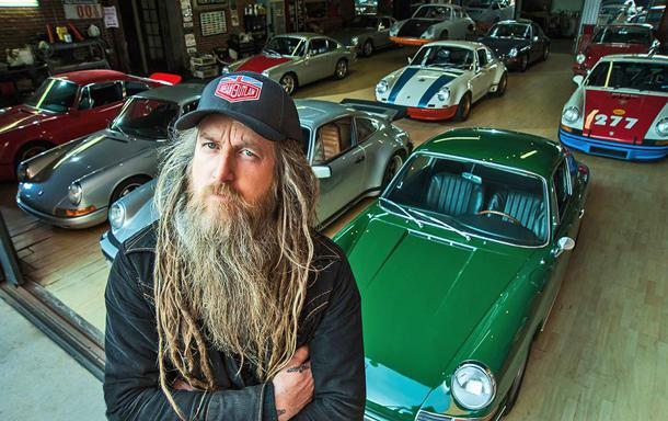 Inside the outlaw Porsche empire of Magnus Walker