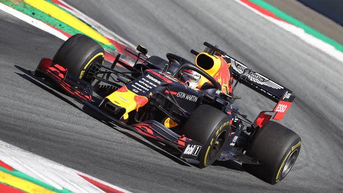 Pembalap Red Bull Racing Max Verstappen (AFP/Georg Hochmuth)