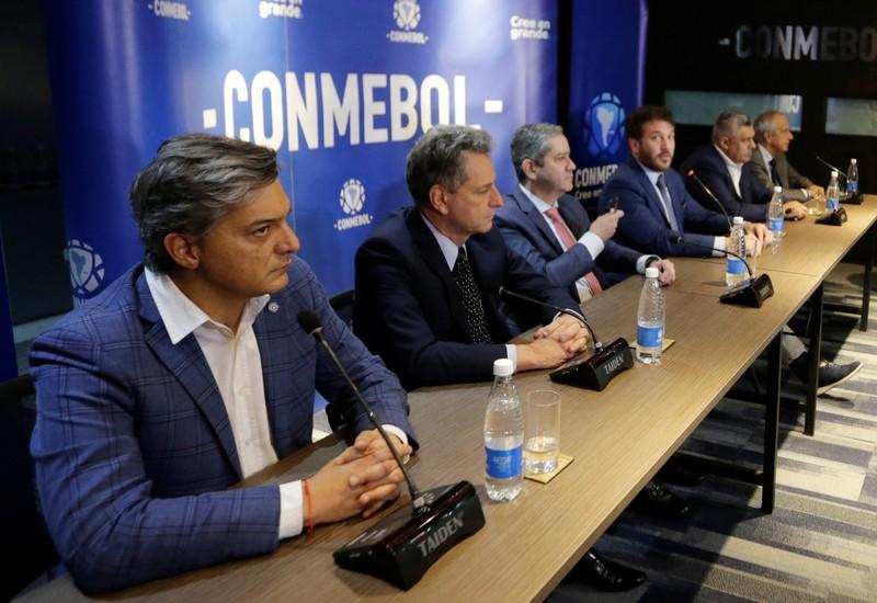 Soccer - Conmebol Summit for Copa Libertadores - Lima new venue for the Final