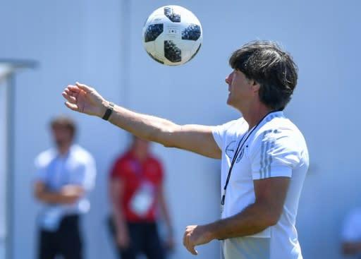 Germany coach Joachim Loew faces a crunch match against Sweden
