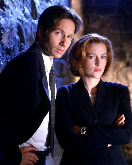 Dana Scully and Fox Mulder (X-Files)