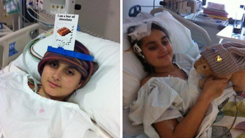 Ariana Delawari had chemotherapy and radiotherapy