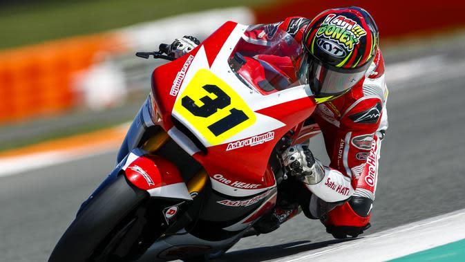 Gerry Salim mendapatkan kesempatan untuk tampil di Moto3 (istimewa)