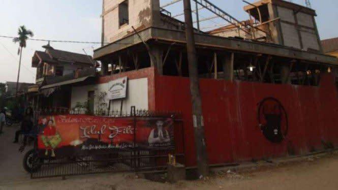 Kantor PDIP Diteror, Terkait dengan Pembakaran Spanduk Habib Rizieq?