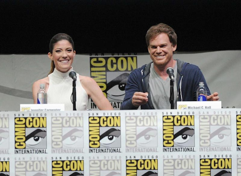 Trinity Returns (Sort Of) With the Rest of the 'Dexter' Cast to Bid Farewell to Fans at Comic-Con