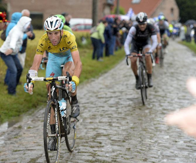 Nibali crushed the cobbles at the 2014 Tour de France