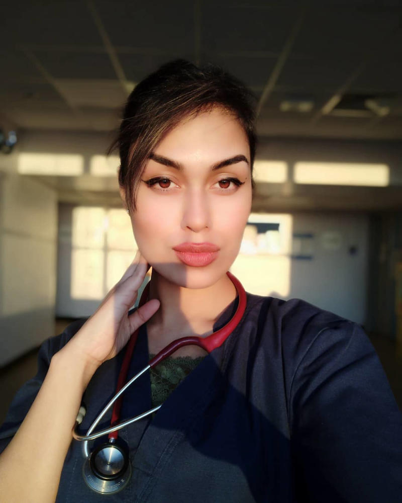 Dr Bhasha Mukherjee was busy with humanitarian work abroad until the Covid-19 Pandemic hit the world and she chose to serve her country as a frontliner. — Picture from Instagram/Dr Bhasha Mukherjee