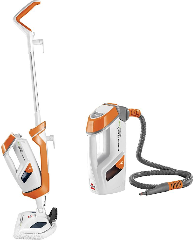 Bissell 1544A PowerFresh Lift-Off Pet Steam Mop is on sale as part of Prime Day 2020.
