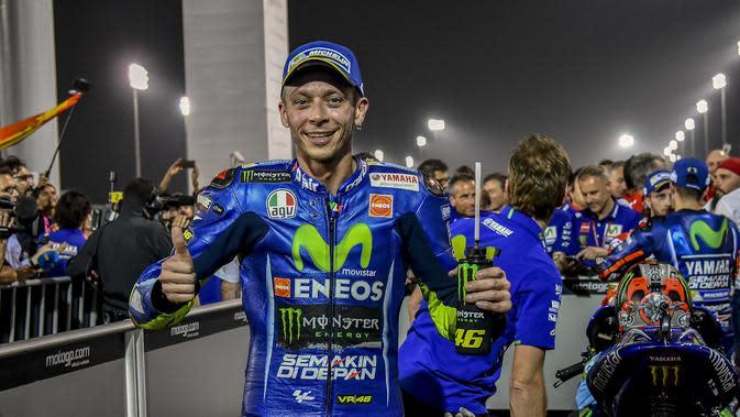 Valentino Rossi (AP Photo/Rafa Marrodan)