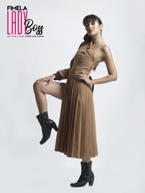 Aurelie Moeremans. (Bambang E.Ros/Fimela.com)