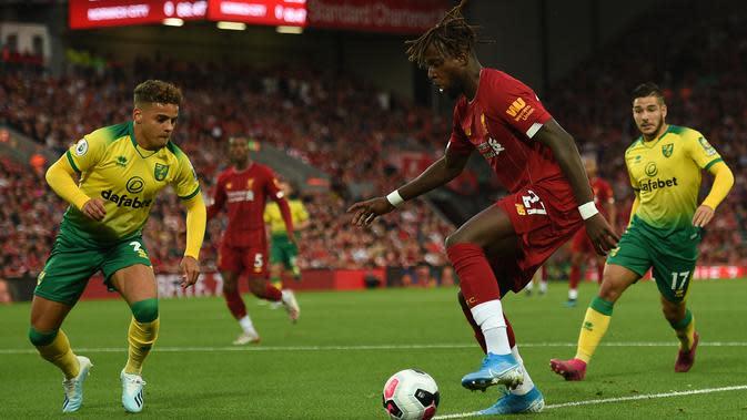 Striker Liverpool, Divock Origi (AFP/Oli Scarff)