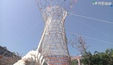利用非洲水塔靈感 國中生製作集水塔