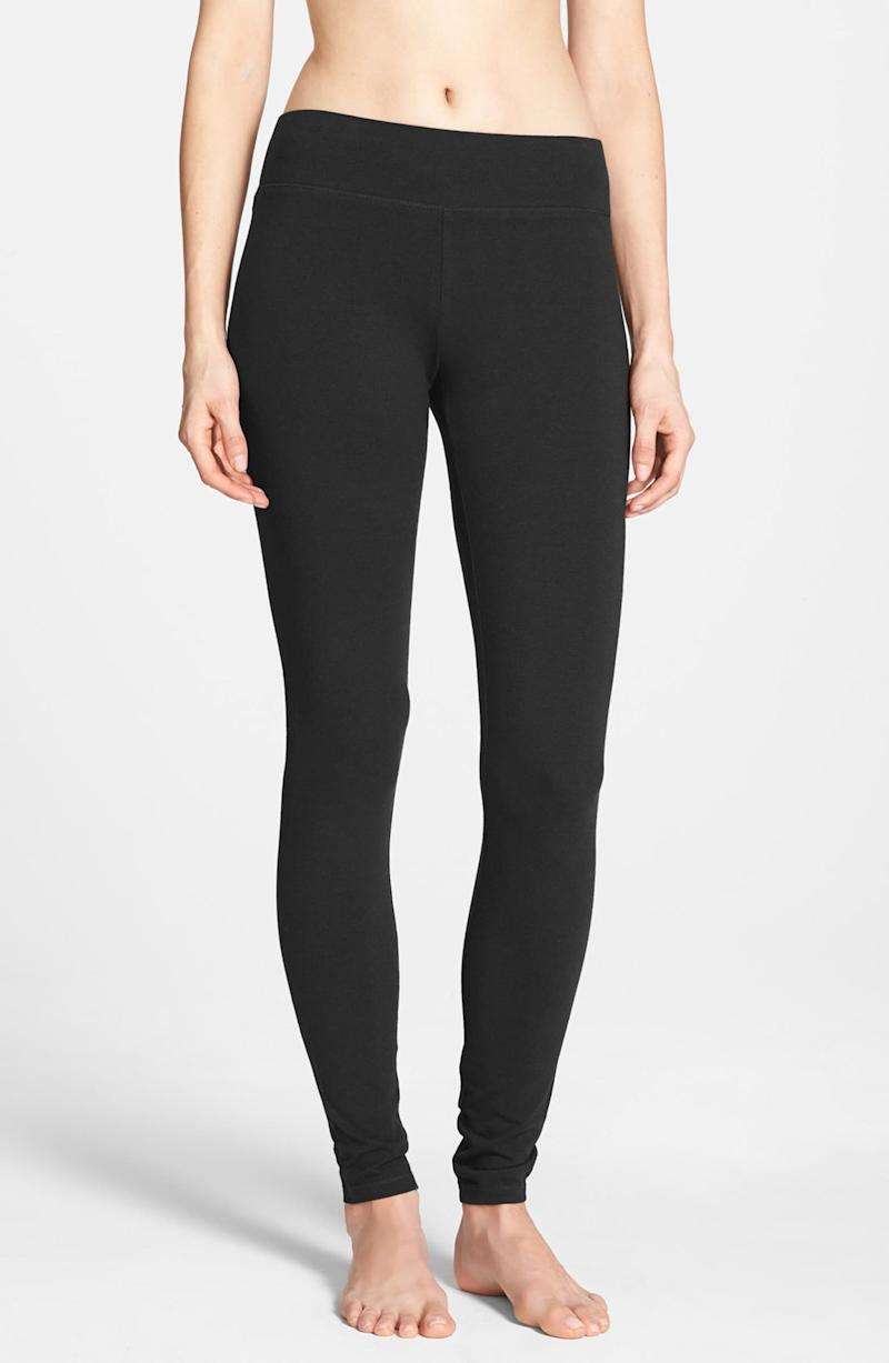 Hue's Ultra Wide Waistband Leggings are thick enough to pass the squat test.