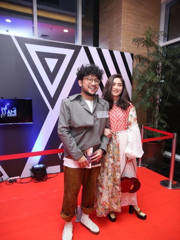 Kunto Aji di AMI Awards 2019 (Adrian Putra/Fimela.com)