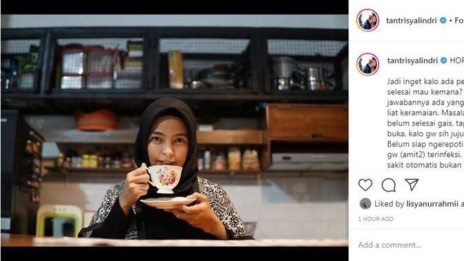 Tantri Kotak (Foto: Instagram/@tantrisyalindri)