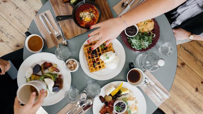 Ilustrasi makan (dok. Pixabay.com/Free-Photos)