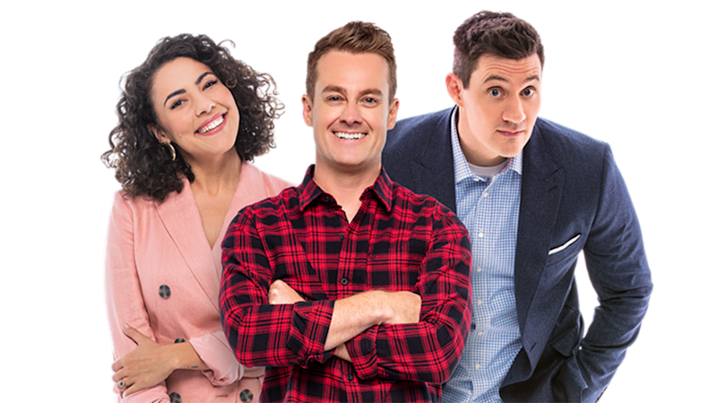 2Day FM has axed its breakfast radio show featuring Ash London, Grant Denyer and Ed Kavalee. Photo: 2Day FM