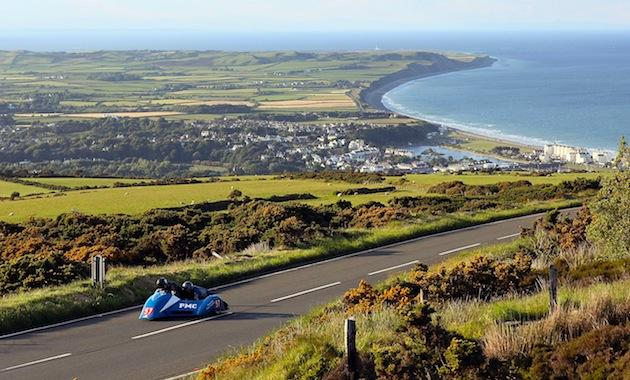 Isle of Man motorcycle races highlight British islands