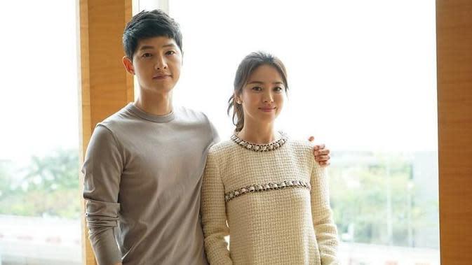 Song Hye Kyo dan Song Joong Ki (Foto: soompi.com)