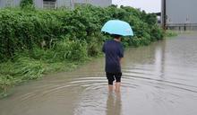 巴威颱風尾轟炸南台灣 高雄多處淹水、台南5路段涵洞8橋梁封閉