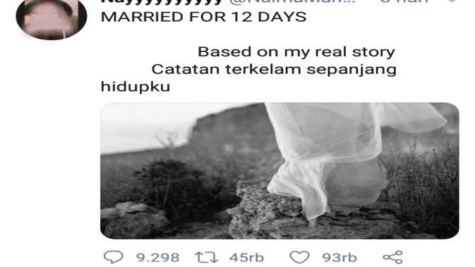Kisah pernikahan 12 hari yang viral di media sosial (Liputan6.com/ZainulArifin)