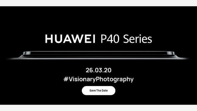 Teaser Huawei P40 (screenshot laman https://consumer.huawei.com/en/)