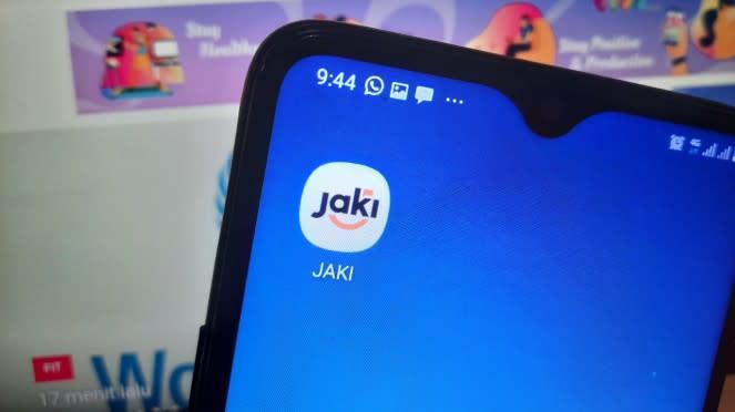Aplikasi pemantau banjir Jakarta.