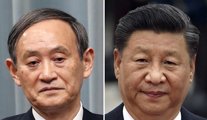 Xi Jinping's proposed visit to Japan was not discussed during the phone conversation wit Yoshihide Suga. Photo: AP